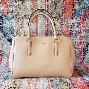 COACH Surrey Carryall Sachel Crossbody Handbag
